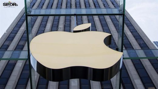 Apple Inc. said confidential material provided for the U.S. government's antitrust inquiry of Alphabet Inc.'s Google should not be shared with the search giant's in-house lawyers.(Don Emmert / AFP/Getty Images)