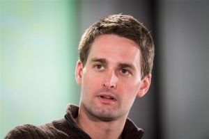 Evan Spiegel, co-founder and chief executive officer of Snap Inc., speaks during the New Work Summit in Half Moon Bay, California, U.S., on Monday, Feb. 25, 2019. David Paul Morris | Bloomberg | Getty Images