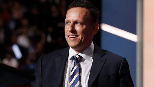 Peter Thiel PayPal Holdings Inc