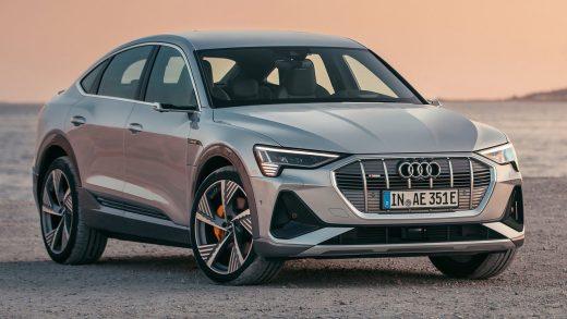 Audi e-tron electric