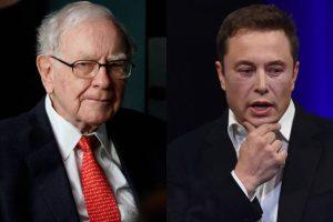 Elon Musk's Tesla Warren Buffett's Berkshire Hathaway