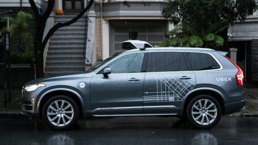 Uber autonomous vehicle Uber
