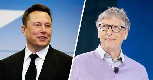 Elon Musk Bill Gates