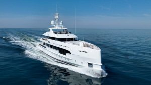 Heesen became the first to build a yacht powered by a hybrid engine: part regular diesel, part diesel electric. Photo: Handout