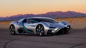 Hyperion's first hydrogen-powered supercar, XP-1. Hyperion Motors