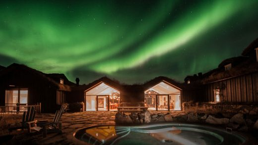 A view fromthe hot tub at Eleven ExperienceDeplarFarm.Source: Eleven Experience
