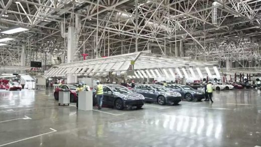 Tesla Giga Shanghai Model 3