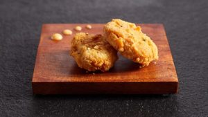 Chicken bites made from Eat Just's cell-cultured chicken Eat Just