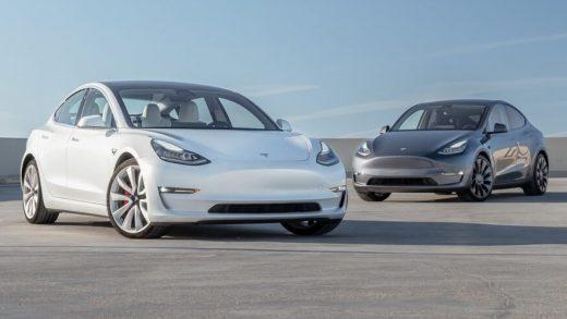 Tesla Model Y and Tesla Model 3