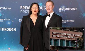 Dr. Priscilla Chan and Mark Zuckerberg