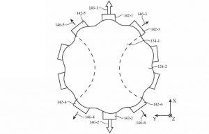Actuators can deflect a fluid-filled lens and adjust its optical properties.
