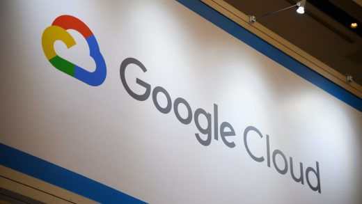 Signage for Google Cloud is displayed at the Google Inc. booth during the SoftBank World 2019 event in Tokyo, Japan, on Thursday, July 18, 2019. The founders of Southeast Asian ride-hailing giant Grab, indoor farming startup Plenty, Indian hotel chain OYO Rooms and payments service Paytm took the stage at an annual SoftBank conference to explain how artificial intelligence helps them stay on top in their respective fields. Photographer: Akio Kon/Bloomberg