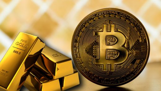 Bitcoin and Gold