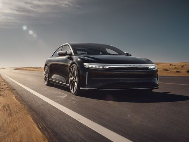 The Lucid Air will take direct aim at the Tesla Model S when deliveries start next year. Lucid