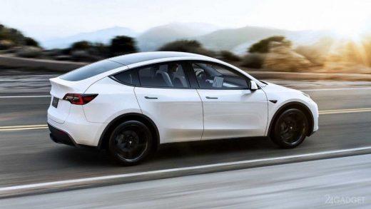 Electric Tesla Model Y China