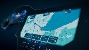 Mercedes-Ben EQS MBUX Hyperscreen