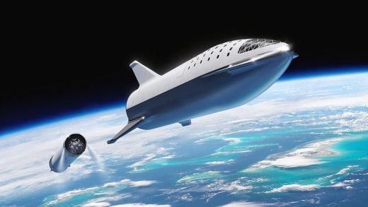 SpaceX Mars Elon Musk Jeff Bezos