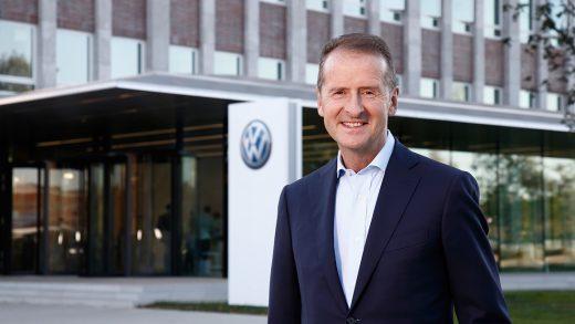 Volkswagen Group boss Herbert Diess