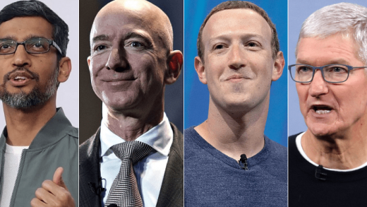 Amazon, Apple, Facebook, Google