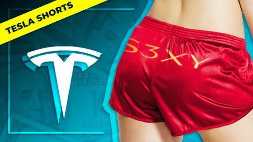Tesla Short Shorts Elon Musk