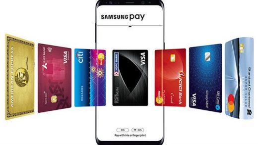 Samsung Galaxy S21 Samsung Pay's