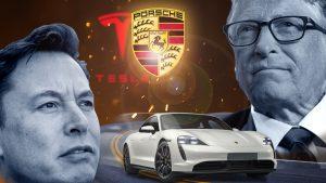 Elon Musk Bill Gates Tesla (TSLA)