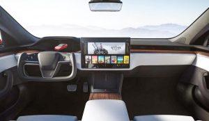 Tesla Model S Yoke Steering