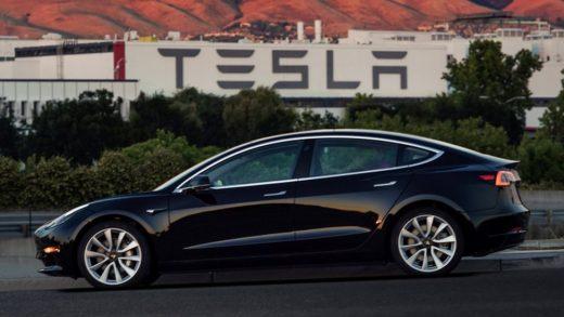 Tesla Model 3 Fremont, California