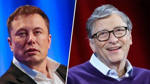 Bill Gates and Elon Musk