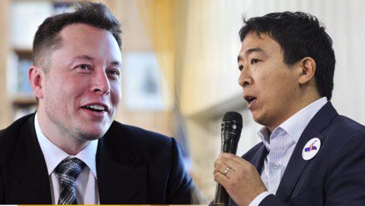Andrew Yang Elon Musk