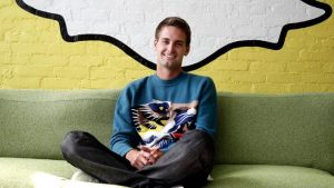 Evan Spiegel, CEO of SNAP Inc.