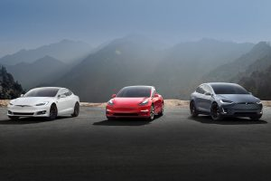 Tesla Model 3 and Model Y and Model X