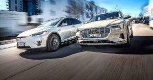Tesla and Audi