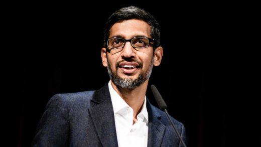 CEO Alphabet Sundar Pichai