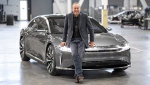 Lucid Motors Chief Executive Officer Peter Rawlinson