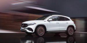 The Mercedes EQA MERCEDES-BENZ