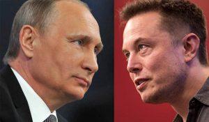 Elon Musk's and Vladimir Putin