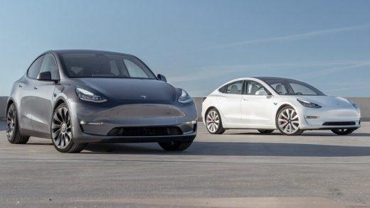Tesla Model 3 and Model Y