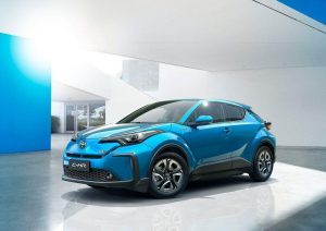 The C-HR is Toyota's first-ever EV. PHOTO COURTESY OF TOYOTA
