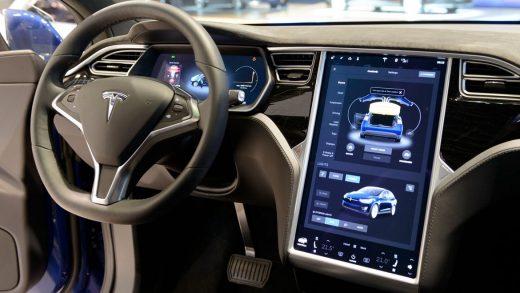 Tesla's display