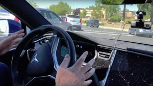 A Tesla Model S car equipped with Autopilot David Paul Morris | Bloomberg | Getty Images
