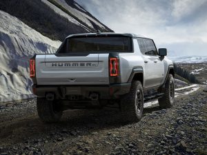Hummer's electric SUV