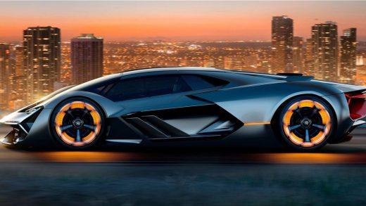 Lamborghini electric car