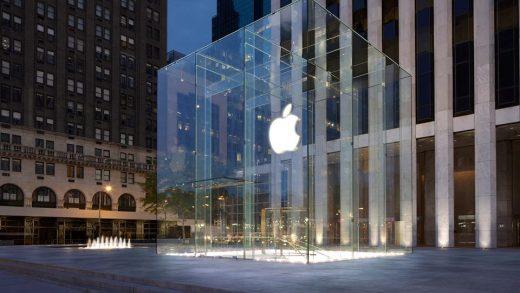 Apple stores in U.S