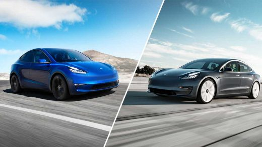 Tesla Model 3, Model Y