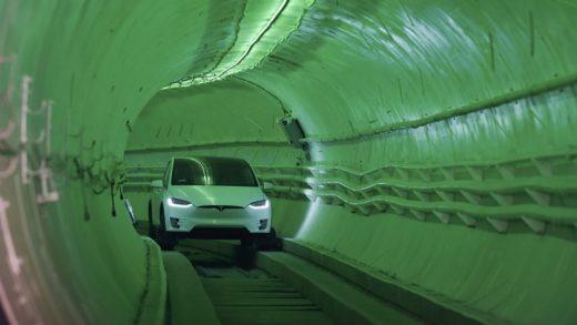 Boring tunnel Los Angeles