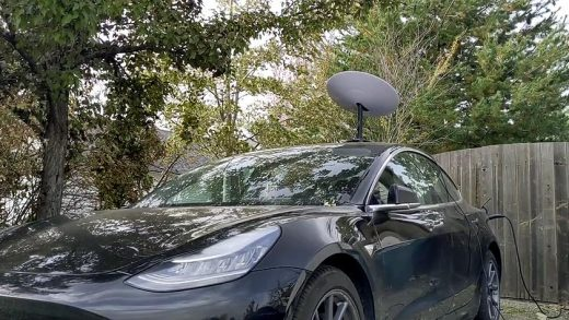 Reddit user wandering-coder put SpaceX's Starlink Beta internet through its paces in the middle of nowhere, proving that the constellation really can deliver on its promise. (Reddit /u/wandering-coder)