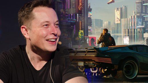 Elon Musk Cyberpunk