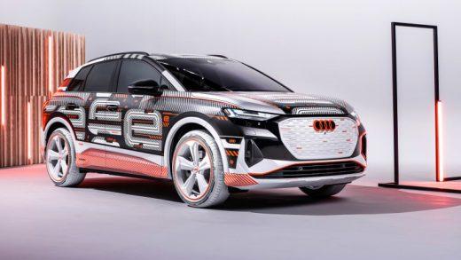 Audi Q4 e-tron electric SUV