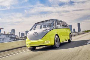 Volkswagen's ID Buzz vehicle. Aeva